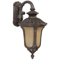 Nuvo Lighting Beaumont 1 Light Outdoor Wall Lantern with Photocell in Fruitwood 60/3906