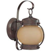 Nuvo Lighting Signature 1 Light Outdoor Wall Lantern with Photocell in Old Bronze 60/3942