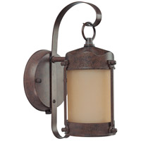 Nuvo Lighting Signature 1 Light Outdoor Wall Lantern with Photocell in Old Bronze 60/3945