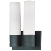 Nuvo Lighting Link 2 Light Vanity & Wall in Textured Black 60/3958