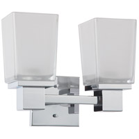 Nuvo Lighting Parker 2 Light Vanity & Wall in Polished Chrome 60/4002 photo thumbnail