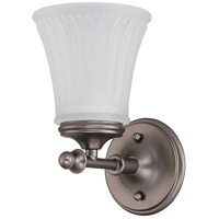 Nuvo Lighting Teller 1 Light Vanity & Wall in Aged Pewter 60/4011