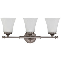Nuvo 60/4013 Teller 3 Light 21 inch Aged Pewter Vanity & Wall Wall Light photo thumbnail