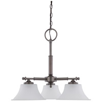 Nuvo Lighting Teller 3 Light Chandelier in Aged Pewter 60/4023