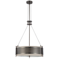 Nuvo Lighting Diesel 4 Light Pendant in Hazel Bronze 60/4033
