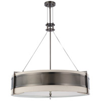 Nuvo Lighting Diesel 6 Light Pendant in Hazel Bronze 60/4034