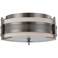 Nuvo Lighting Diesel 3 Light Flushmount in Hazel Bronze 60/4036