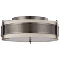 Nuvo Lighting Diesel 4 Light Flushmount in Hazel Bronze 60/4037