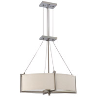 Nuvo Lighting Portia 4 Light Pendant in Hazel Bronze 60/4045