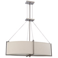Nuvo Lighting Portia 6 Light Pendant in Hazel Bronze 60/4046 photo thumbnail