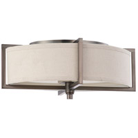 Nuvo Lighting Portia 2 Light Flushmount in Hazel Bronze 60/4048
