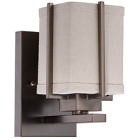 Nuvo Lighting Logan 1 Light Vanity & Wall in Hazel Bronze 60/4061