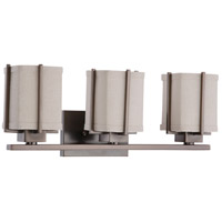 Nuvo Lighting Logan 3 Light Vanity & Wall in Hazel Bronze 60/4063