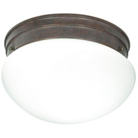 Nuvo Lighting Signature 2 Light Flushmount in Old Bronze 60/407