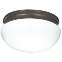 Nuvo Lighting Signature 2 Light Flushmount in Old Bronze 60/408