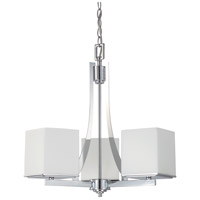Nuvo Lighting Bento 3 Light Chandelier in Polished Chrome 60/4085