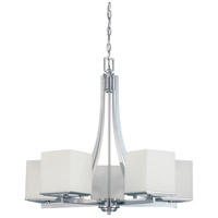 Nuvo Lighting Bento 5 Light Chandelier in Polished Chrome 60/4086