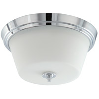 Bento 2 Light 13 inch Polished Chrome Flushmount Ceiling Light
