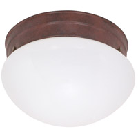 Nuvo Lighting Signature 1 Light Close-to-Ceiling in Polished Brass 60/409