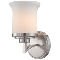 Nuvo Lighting Harmony 1 Light Vanity & Wall in Brushed Nickel 60/4101