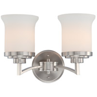 Nuvo 60/4102 Harmony 2 Light 15 inch Brushed Nickel Vanity & Wall Wall Light