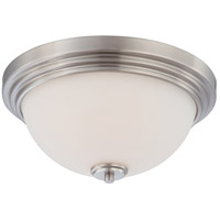 Nuvo Lighting Harmony 2 Light Flushmount in Brushed Nickel 60/4111