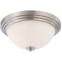 Nuvo Lighting Harmony 3 Light Flushmount in Brushed Nickel 60/4112