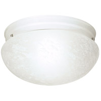 Nuvo Lighting Signature 2 Light Flushmount in White 60/412