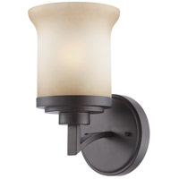 Harmony 1 Light 6 inch Dark Chocolate Bronze Vanity & Wall Wall Light