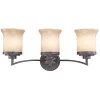 Nuvo Lighting Harmony 3 Light Vanity & Wall in Dark Chocolate Bronze 60/4123