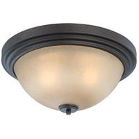 Nuvo Lighting Harmony 3 Light Flushmount in Dark Chocolate Bronze 60/4132