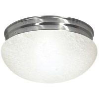 Nuvo Lighting Signature 2 Light Flushmount in Brushed Nickel 60/414