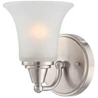 Nuvo Lighting Surrey 1 Light Vanity & Wall in Brushed Nickel 60/4141