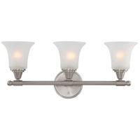 Nuvo 60/4143 Surrey 3 Light 24 inch Brushed Nickel Vanity & Wall Wall Light