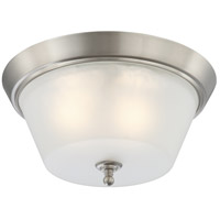 Nuvo 60/4153 Surrey 3 Light 16 inch Brushed Nickel Flushmount Ceiling Light
