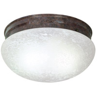 Nuvo Lighting Signature 2 Light Flushmount in Old Bronze 60/416