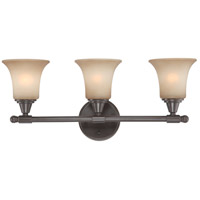 Nuvo Lighting Surrey 3 Light Vanity & Wall in Vintage Bronze 60/4163