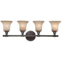 Surrey 4 Light 30 inch Vintage Bronze Vanity & Wall Wall Light