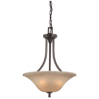 Surrey 3 Light 16 inch Vintage Bronze Pendant Ceiling Light