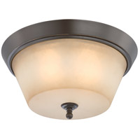 Nuvo Lighting Surrey 3 Light Flushmount in Vintage Bronze 60/4173
