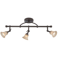 Nuvo Lighting Surrey 3 Light Fixed Track Bar in Vintage Bronze 60/4174