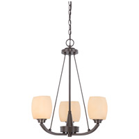 Nuvo Lighting Helium 3 Light Chandelier in Vintage Bronze 60/4205 photo thumbnail