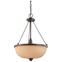 Nuvo Lighting Helium 3 Light Pendant in Vintage Bronze 60/4207 photo thumbnail