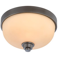 Nuvo Lighting Helium 1 Light Flushmount in Vintage Bronze 60/4211