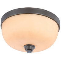 Nuvo Lighting Helium 2 Light Flushmount in Vintage Bronze 60/4212
