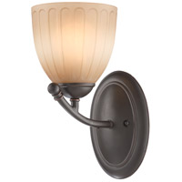 Nuvo Lighting Carousel 1 Light Vanity & Wall in Sudbury Bronze 60/4221