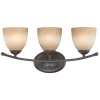 Nuvo Lighting Carousel 3 Light Vanity & Wall in Sudbury Bronze 60/4223 photo thumbnail
