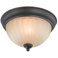 Nuvo Lighting Carousel 1 Light Semi-Flush in Sudbury Bronze 60/4231