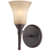 Nuvo Lighting Franklin 1 Light Vanity & Wall in Georgetown Bronze 60/4241
