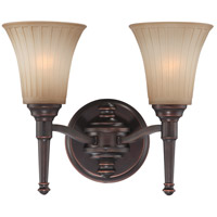 Nuvo Lighting Franklin 2 Light Vanity & Wall in Georgetown Bronze 60/4242